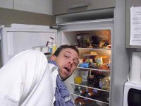 241543903 - Head in Fridge