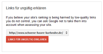 Google Webmaster Tools - Links abwarten