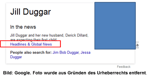 Google Knowledge Graph jetzt 'In the News'
