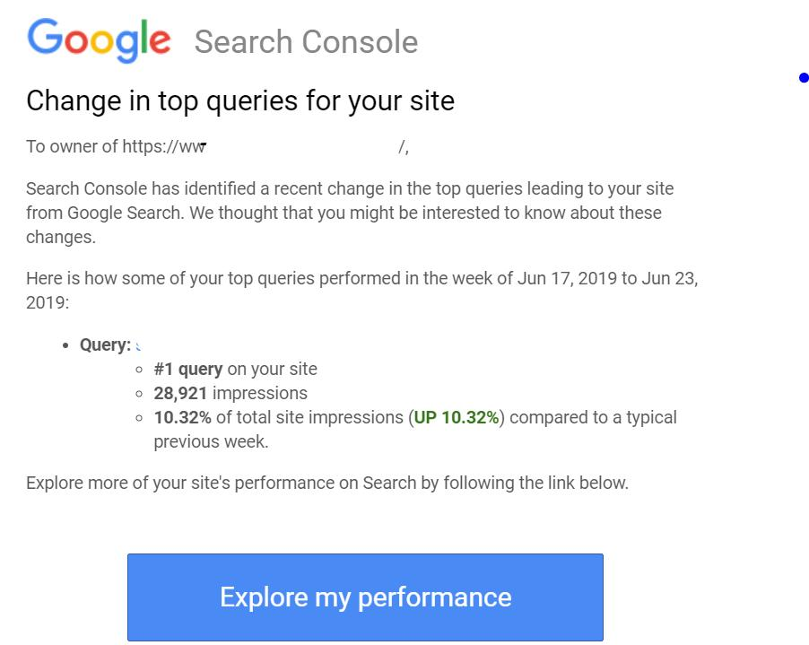 Google now alerts you of changes to the most common searches.