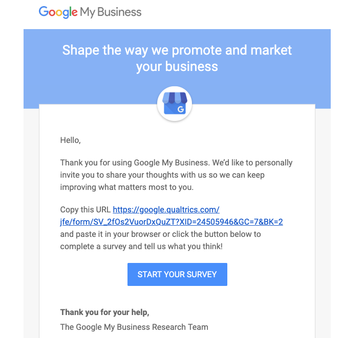Google My Business: Survey of Payment Functions
