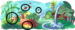 Google-Doodle Earth Day 2011
