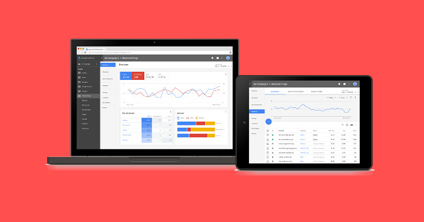 AdWords: neues Design