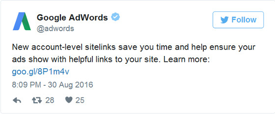 AdWords Twitter