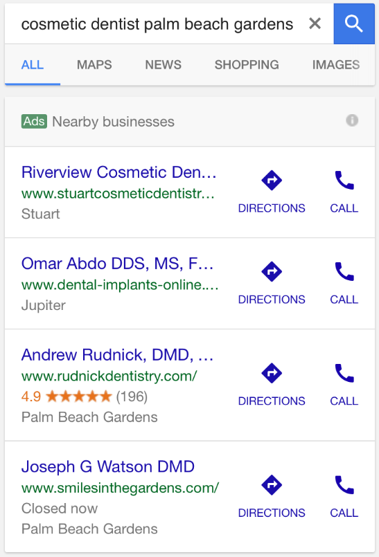 Google: Local Ad Pack