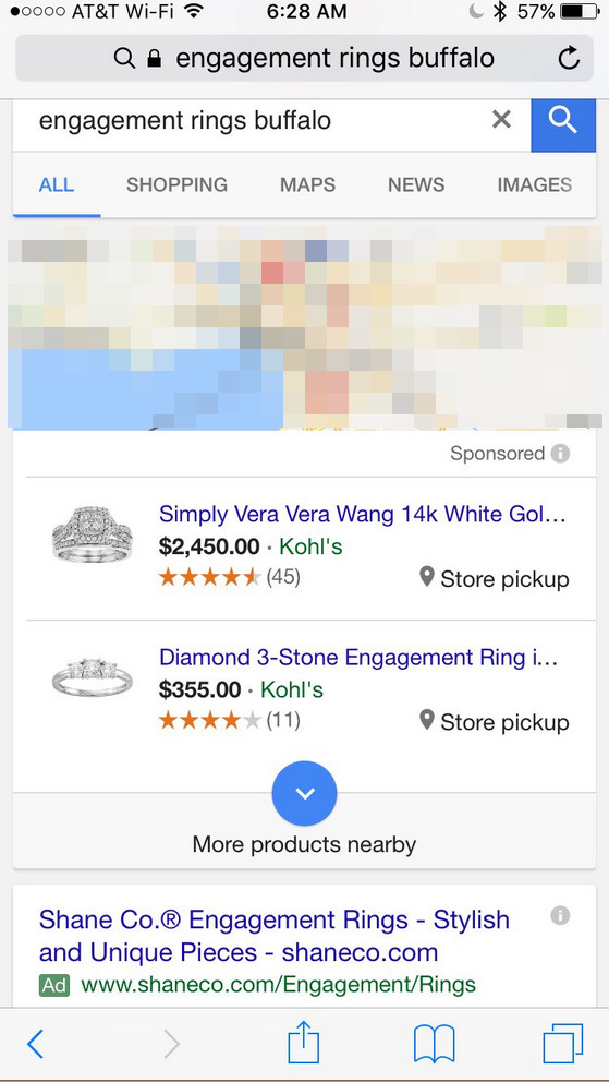 Google: lokale Shopping-Ads