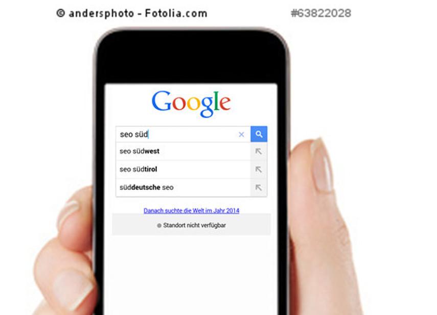 google testet wieder thumbnails in der mobilen suche seo s dwest. Black Bedroom Furniture Sets. Home Design Ideas