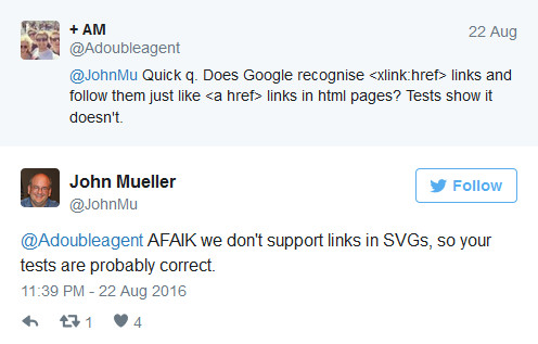 Johannes Müller (Google) zu SVG-Links