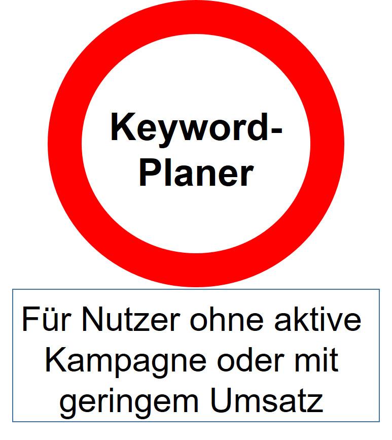Bericht: Google drosselt offiziell den Zugang zum Keyword-Planer für ...