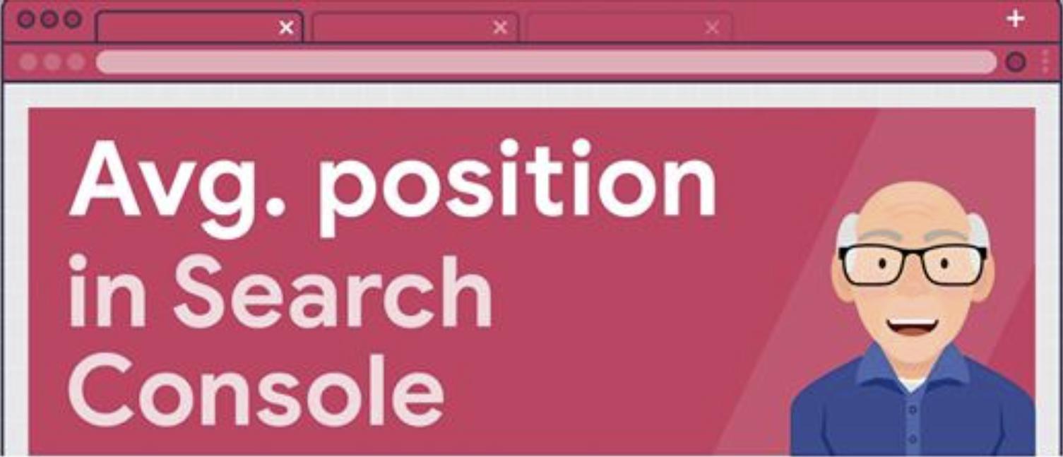 Position moyenne dans la Google Search Console - AskGooglebot
