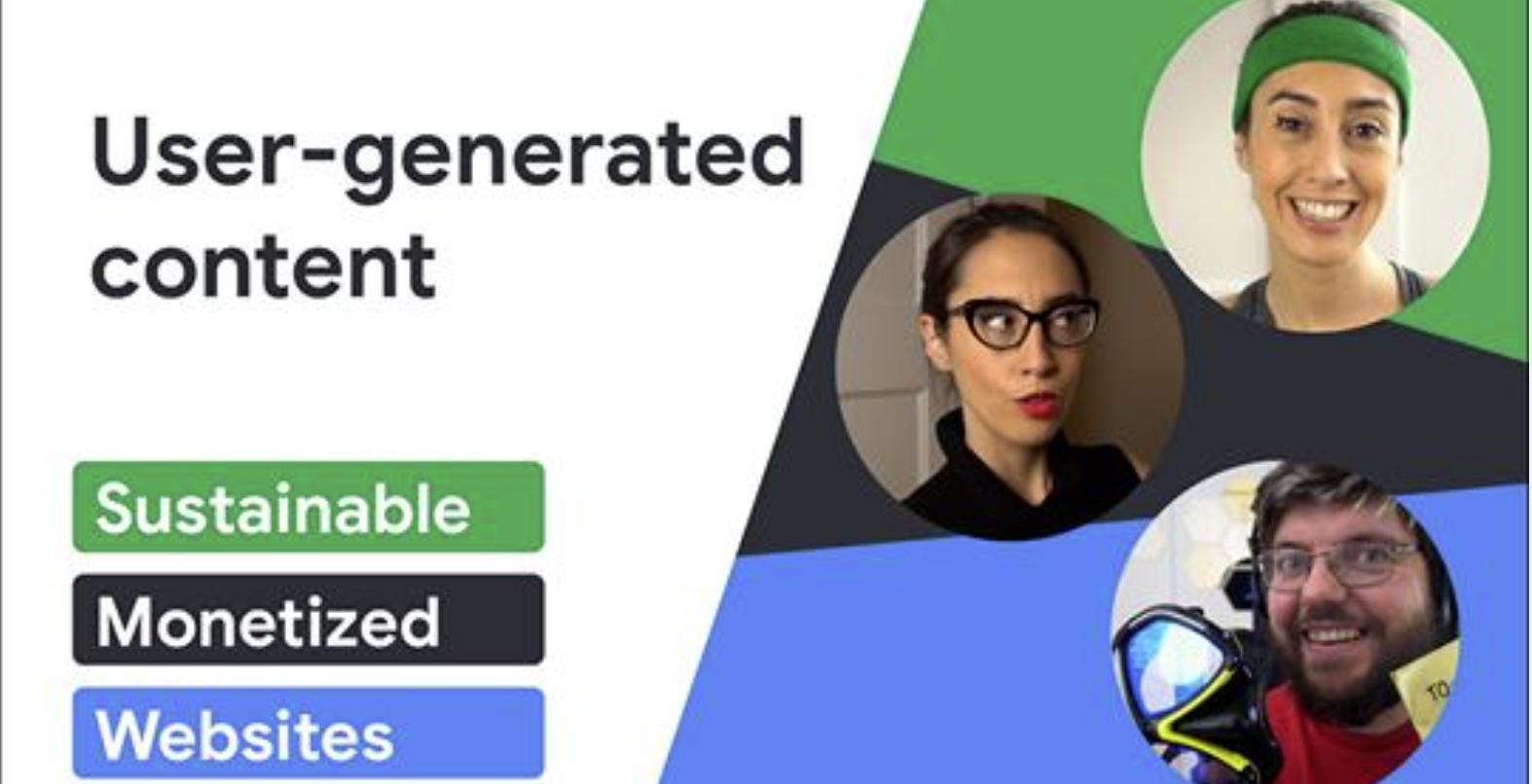 Google : Meilleures pratiques pour les contenus générés par les utilisateurs
