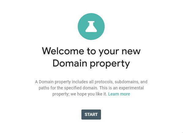 Google Domain Property