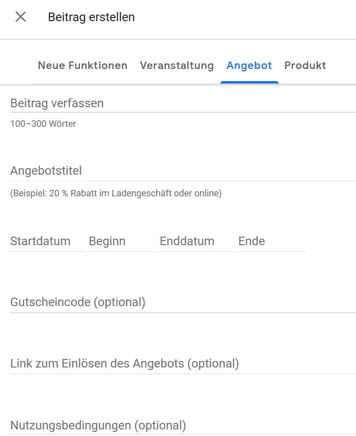 Google My Business Jetzt Auch Mit Beiträgen Für Produkte Und