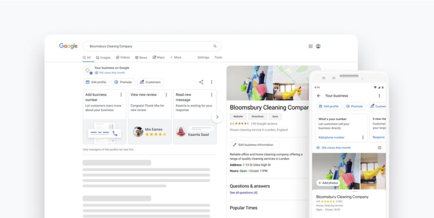 Google My Business-Profile lassen sich jetzt direkt aus ...