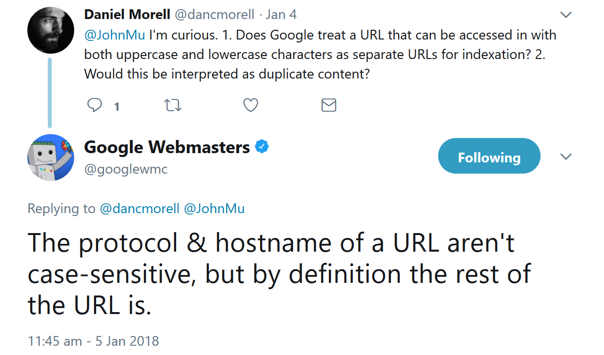 Optimize your content by proper URL structure
