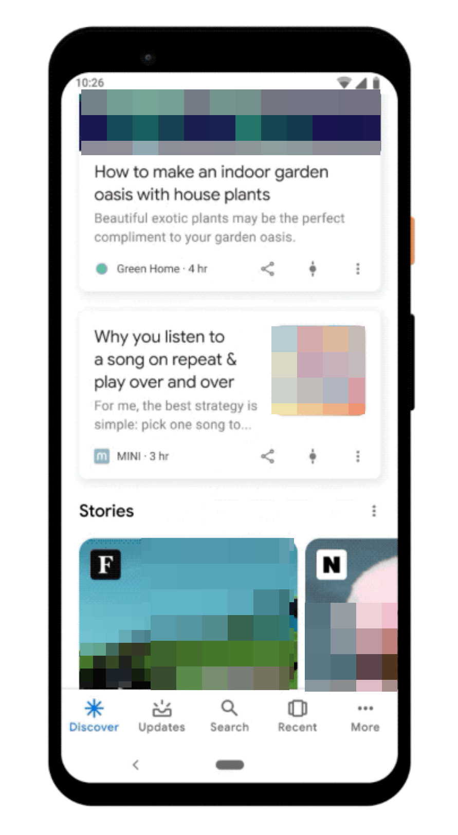 Web Stories in Google Discover