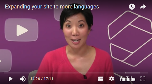 Google: Expanding your site to more languages