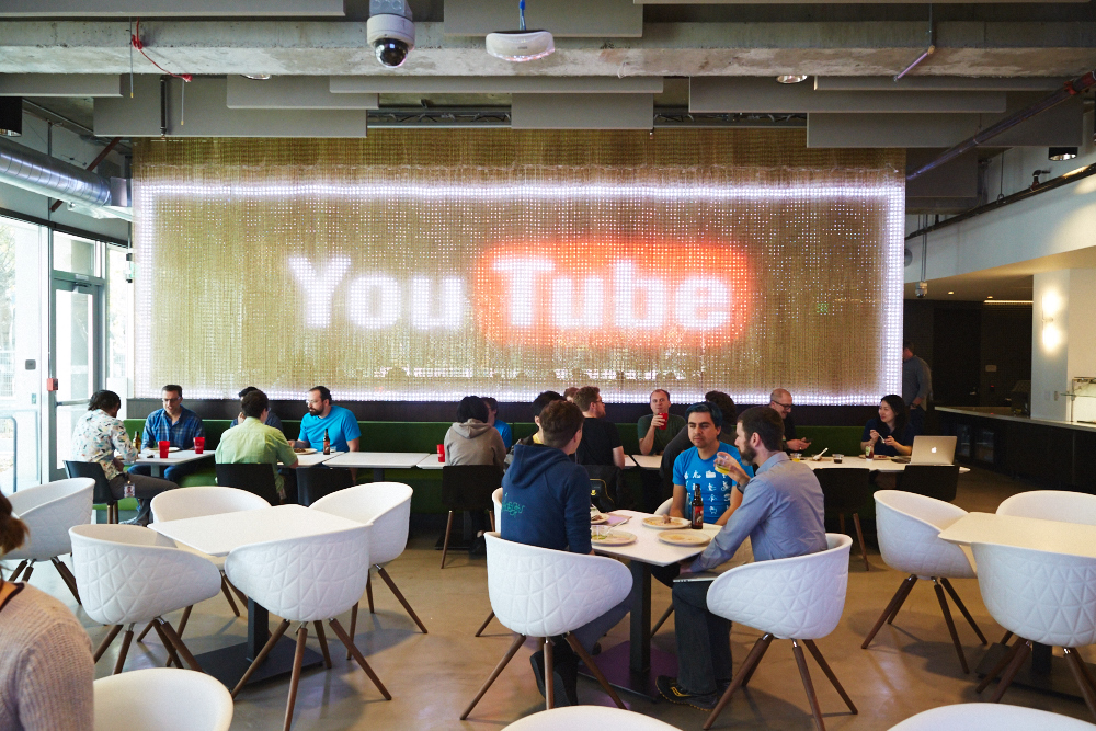 YouTube-Cafeteria